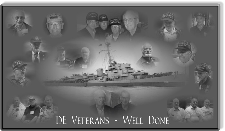 DE Veterans Well Done!